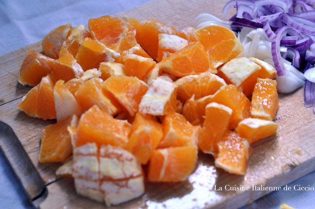 Salade d oranges la sicilienne la cuisine de francesco - Blog cuisine sicilienne ...