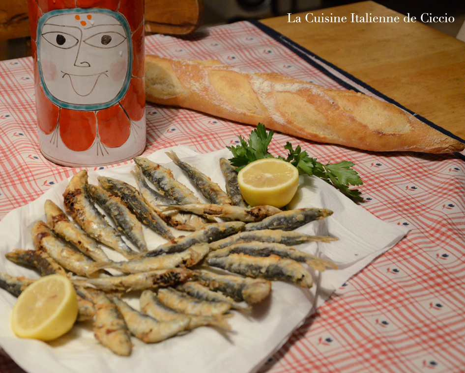 friture de sardines en farine la cuisine de francesco. Black Bedroom Furniture Sets. Home Design Ideas